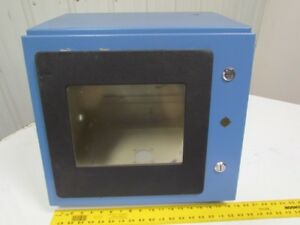 Custom Steel Type 12 Enclosure 19x15x17 Operator Interface W window