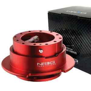 Nrg Steering Wheel Quick Release Hub Gen 2 5 Red Srk 250rd