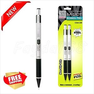 Mechanical Pencil Smooth 0 5 Mm Pentel Office School Stainless Steel Student New