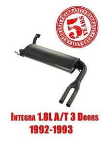 Brand New Rear Muffler With Dual Tips For Acura Integra 1 8l A t 3 Doors 92 93