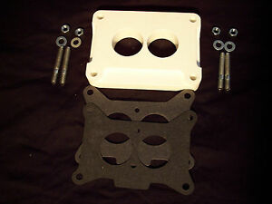 Holley 4412 500 And 350 2 Barrel Spacer Race Car Oval Track New