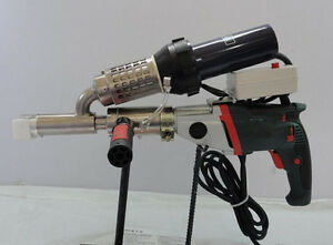 Plastic Extrusion Welding Machine Hot Air Plastic Welder Gun Extruder
