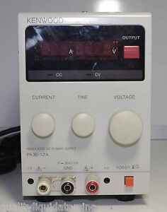 Kenwood Regulated Dc Power Supply Pa36 1 2a