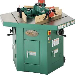 G9933 Grizzly Three Spindle Shaper