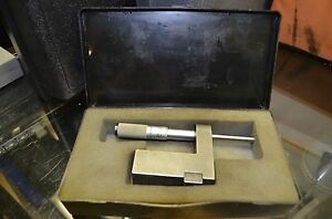 Precision Cnc Machinist Lathe Mounting Block Usa Slocomb 0 25 Mm Micrometer Head