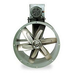 Replacement 12 Tubeaxial Fan Motor Kit For Mixing Room Exhaust 7f927
