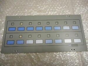 Watkins Johnson 976259 001 Alarm Status Front Panel no Electronics