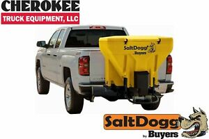 Saltdogg buyers Products Tgs07yel bulk Salt 50 50 Salt sand Mix Spreader Yellow