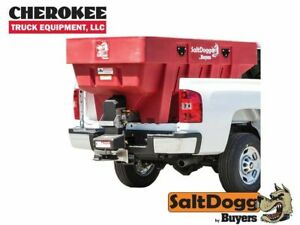 Saltdogg buyers Products Shpe1500red Bulk Salt 50 50 Salt sand Mix Spreader Red