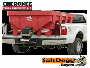 Saltdogg buyers Products Shpe1500xred Bulk Salt 50 50 Salt sand Mix Spreader