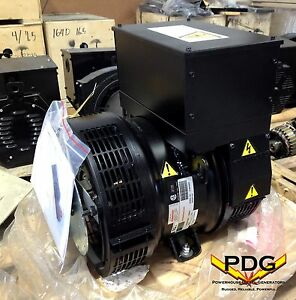 Generator Alternator Head Stamford P1o44f1 12 5 Kw 1 Phase 120 240 V