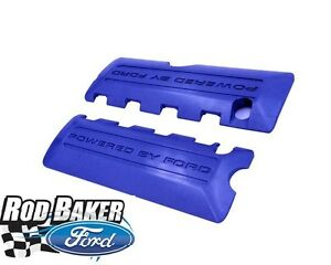 2011 2017 Mustang 5 0l 4v Blue Coil Covers Ford Racing M 6p067 M50b