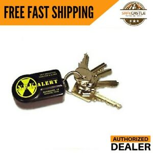 New Nukalerttm Nuclear Radiation Detector Monitor keychain Attachable Alarm