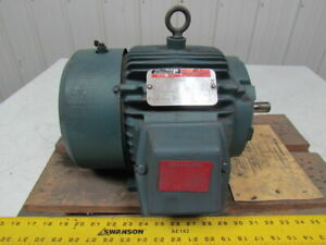 Reliance Electric P1863110e Dutymaster 1hp Motor 1760rpm 460vac 3ph 182 Frame