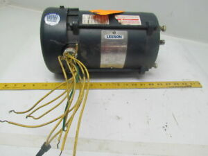 Leeson A6t17xc22g 1hp 1725 1425rpm 3ph F56c Frame Explosion Proof Electric Motor