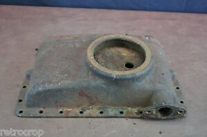Ih Mccormick deering Farmall F 12 F 14 Radiator Top Cast Housing Reservoir