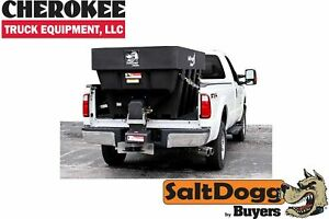 Saltdogg buyers Products Shpe2000 Bulk Salt 50 50 Salt sand Mix Spreader Black