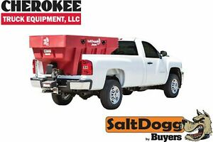 Saltdogg buyers Products Shpe2000red Bulk Salt 50 50 Salt sand Mix Spreader Red