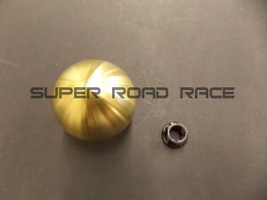 Blox 490 Spherical Shift Knob 10x1 5 Gold For Honda For Acura