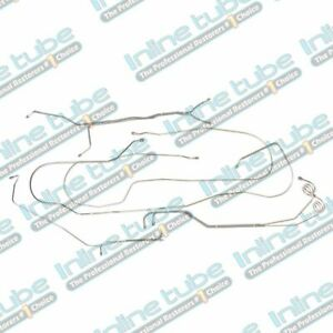 1981 87 Chevrolet Gmc 2wd Shortbed Truck 1 2 Ton Power Disc Brake Line Set Ss