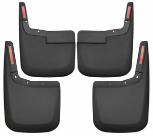 Husky Mud Guards Flaps For 15 20 Ford F150 Front Rear W No Flares No Drill