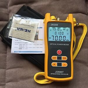 Handheld Optical Power Meter Jw3208a Laser Fiber Optic Tool Tester 70 To 6dbm