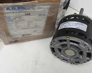 Ao Smith 346 Shaded Pole Motor 1 10 Hp Da3e7224n S89 760 Nos Open Box