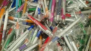 Lot 350 Ballpoint Pens Assorted Styles And Colors