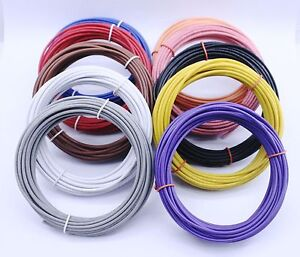 Wk 506bk Hook up Wire Kit solid 22awg 600 Bulk 6 Asst Colors no Box 100 Ea