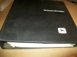 Original john Deere 675 Skid Steertechnical Manual dealer Binder Tm 1374