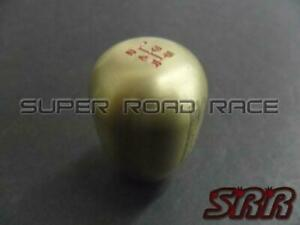 Blox Racing 5 Speed Shift Knob Bronze 12x1 25mm Subaru For Toyota
