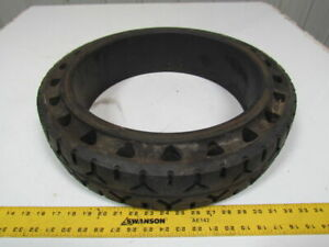 Firestone 21x5x15 Cushion Press On Hard Rubber Forklift Tire W tread