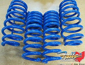 2008 2018 Dodge Challenger Performance Stage 1 Lowering Springs Kit Mopar Oem