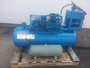 Quincy Air Compressor 90 Gallon 3 Phase 200v 5 8a Model Qc01508s00001