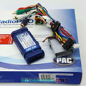 Rp3 gm11 Aftermarket Radio Replacement Interface For Chevrolet Car Stereo Wires