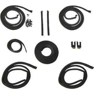 1962 Cadillac Series 62 Deville 2dr Hardtops Body Weatherstrip Seal Kit