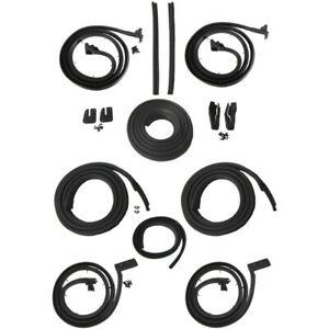 1963 Cadillac 60 Special 4dr Hardtop Body Weatherstrip Seal Kit