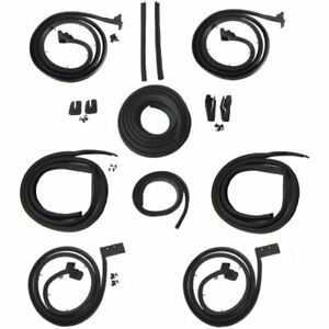 1963 1964 Cadillac Series 62 Deville 4 Window 4dr Hardtop Body Weatherstrip Kit
