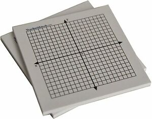 5 Count Mini Graph Pad Sticky Notes Coordinate Graph 20 X 20 Free Shipping
