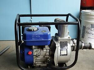 2 Titan Industrial Trash Pump brand New Gasoline Diesel Wp30