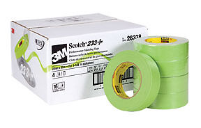 3m 26338cs 1 1 2in Scotch Premium Automotive 233 Masking Tape