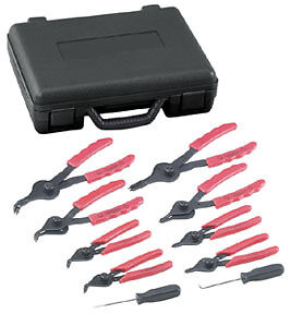 Otc 4512 10 Pc Snap Ring Pliers Set Internal External