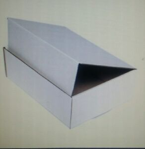 White Corrugated Shipping Packing Moving Tuck Mailer Boxes Box choose 56 Sizes