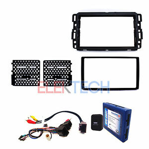 Radio Replacement Interface W Steering Controls Dash Mount Kit For Gmc Chevy