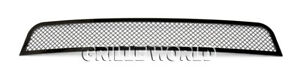 Ss 1 8mm Black Mesh Grille For 2011 2012 Chevy Cruze Bumper