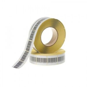 2 000 Rf Labels 3x3cm Size Checkpoint System Compatible Fake Barcode
