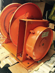 Gleason Cable Master 75 Amps X4 600v 4 wire 300 amp Remote Welding Reel Spool