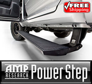Amp Powerstep Retractable Running Board For 07 14 Chevy Gmc 1500 2500 3500 Gas