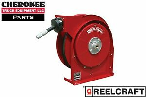 Reelcraft 5435 Omp Premium Duty Spring Retract Oil Hose Reel 35 Of 1 4 Hose