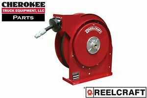 Reelcraft 5630 Omp Premium Duty Spring Retract Oil Hose Reel 30 Of 3 8 Hose
